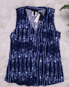 New! BCBG MaxAzria sleeveless blouse